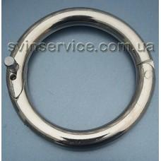 Кольцо носовое для быков никелированное
