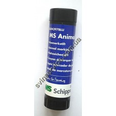 Маркер-мелок синий  для маркировки животных MS Shippers