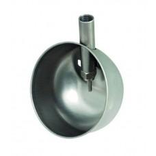 Чашечная поилка  150×100мм для подсвинков из нержавеющей стали