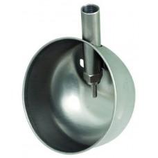 Чашечная поилка  170×150мм для откорма из нержавеющей стали